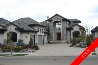 Hodgson House for sale: Estate of Whitemud Ridge 7 bedroom 3,023 sq.ft. (Listed 2011-02-03)