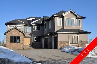 Hodgson House for sale: Estates of Whitemud Ridge 6 bedroom 4,250 sq.ft. (Listed 2010-12-11)