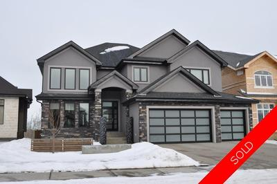 Hodgson House for sale: Estates of Whitemud Ridge 6 bedroom 4,100 sq.ft. (Listed 2011-02-23)