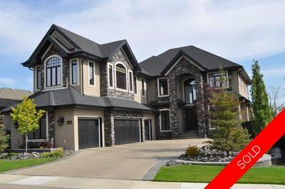 Hodgson House for sale: Estates of Whitemud Ridge 5 bedroom 4,700 sq.ft. (Listed 2012-03-26)